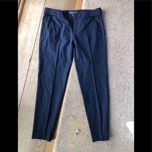 Navy blue trousers/pants